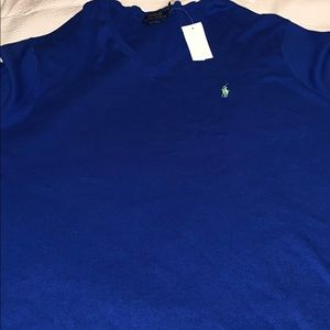 Ralph Lauren polo v-neck sweater men's